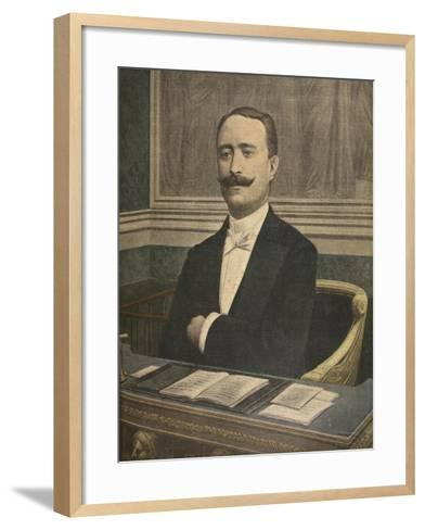 The New President of the Chambre Des Deputes: Paul Deschanel-French-Framed Art Print