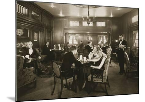 First Class Lounge, Scythia, 20th Century (Photo)--Mounted Giclee Print