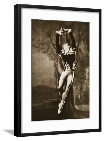 Andre Eglevsky in Swan Lake, from 'Grand Ballet De Monte-Carlo', 1949 (Photogravure)-French Photographer-Framed Art Print