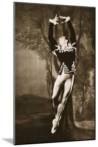 Andre Eglevsky in Swan Lake, from 'Grand Ballet De Monte-Carlo', 1949 (Photogravure)-French Photographer-Mounted Giclee Print
