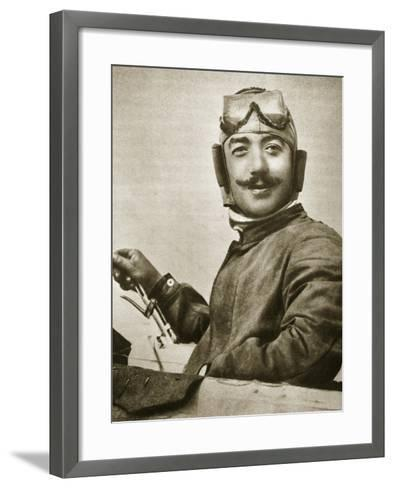 He Showed the World How to Loop (Photogravure)-French Photographer-Framed Art Print