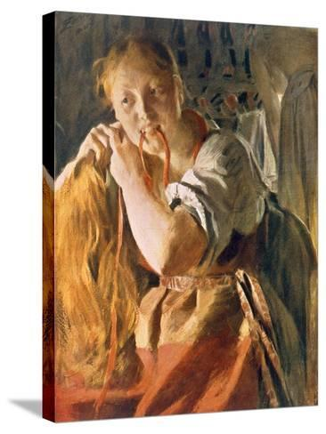 Untitled-Anders Leonard Zorn-Stretched Canvas Print