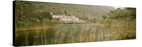 Kylemore Abbey County Galway Ireland--Stretched Canvas Print
