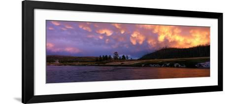 Firehole River Yellowstone National Park WY USA--Framed Art Print