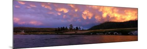 Firehole River Yellowstone National Park WY USA--Mounted Photographic Print