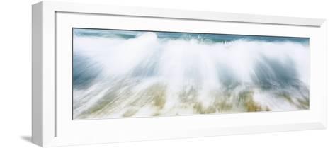 Surf Fountains Big Makena Beach Maui HI USA--Framed Art Print