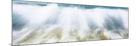 Surf Fountains Big Makena Beach Maui HI USA--Mounted Photographic Print