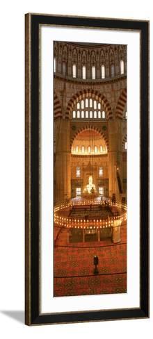 Turkey, Edirne, Selimiye Mosque--Framed Art Print