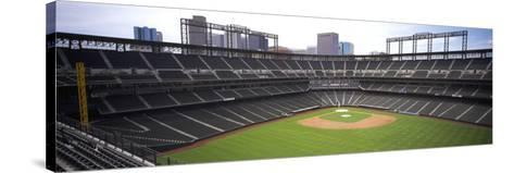 Coors Field Denver CO--Stretched Canvas Print