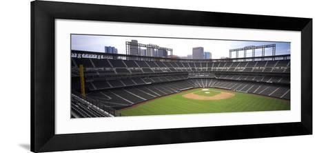 Coors Field Denver CO--Framed Art Print