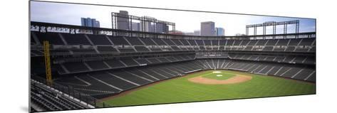 Coors Field Denver CO--Mounted Photographic Print