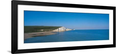 The Seven Sisters at Beachy Head Sussex England--Framed Art Print