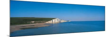 The Seven Sisters at Beachy Head Sussex England--Mounted Photographic Print