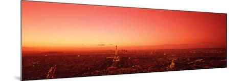 France, Paris, Aerial View--Mounted Photographic Print
