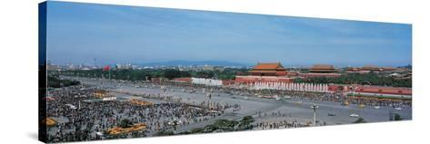Tiananmen Square Beijing China--Stretched Canvas Print