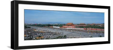 Tiananmen Square Beijing China--Framed Art Print