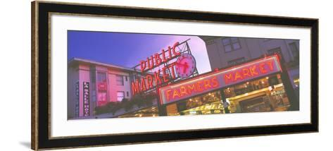 The Public Market Seattle WA USA--Framed Art Print