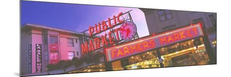 The Public Market Seattle WA USA--Mounted Photographic Print