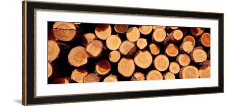 Logs--Framed Art Print