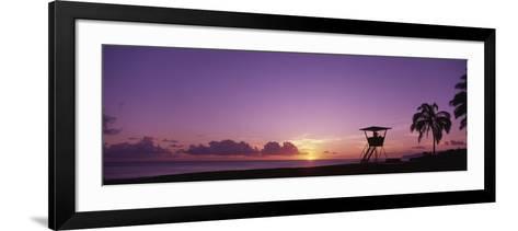 Waimea Bay Oahu HI USA--Framed Art Print