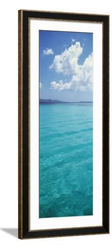 Clouds over the Sea, St. Thomas, US Virgin Islands--Framed Art Print