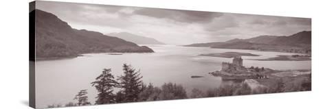 Eilean Donan Castle on Loch Alsh and Duich Scotland--Stretched Canvas Print