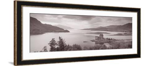 Eilean Donan Castle on Loch Alsh and Duich Scotland--Framed Art Print