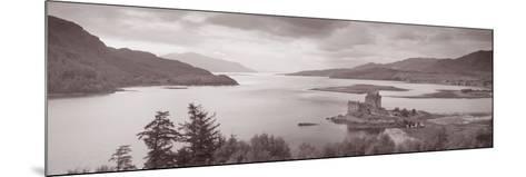 Eilean Donan Castle on Loch Alsh and Duich Scotland--Mounted Photographic Print
