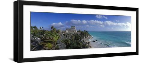 El Castillo Tulum Mexico--Framed Art Print