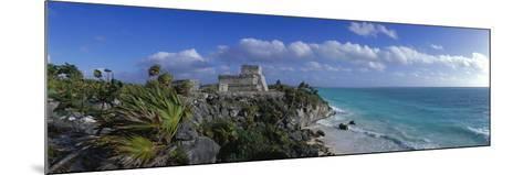 El Castillo Tulum Mexico--Mounted Photographic Print