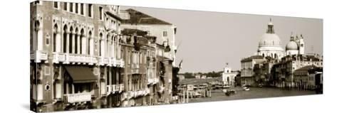 Grand Canal Venice Italy--Stretched Canvas Print