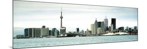 Skyscrapers at the Waterfront, Cn Tower, Toronto, Ontario, Canada--Mounted Photographic Print