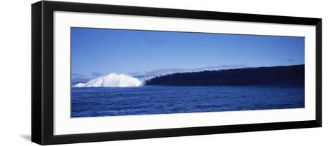 Rough Waves in the Sea, Tahiti, French Polynesia--Framed Art Print