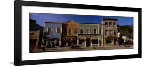 Buildings in a Town, Crested Butte, Gunnison County, Colorado, USA--Framed Art Print