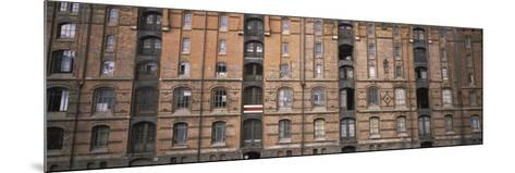 Low Angle View of Warehouses in a City, Speicherstadt, Hamburg, Germany--Mounted Photographic Print