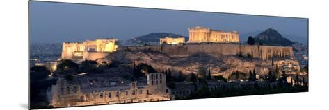 Ruins of a Temple, Athens, Attica, Greece--Mounted Photographic Print