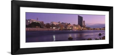 Buildings at the Waterfront, Grand Rapids, Kent County, Michigan, USA--Framed Art Print