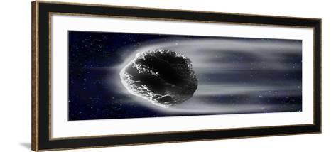 Comet in Space--Framed Art Print