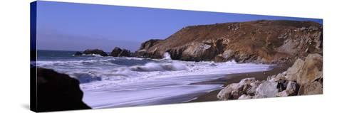 Surf on the Coast, Pacifica, San Mateo County, California, USA--Stretched Canvas Print