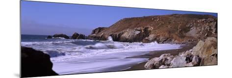 Surf on the Coast, Pacifica, San Mateo County, California, USA--Mounted Photographic Print