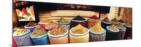 Spice Market Inside the Medina in Marrakesh, Morocco--Mounted Photographic Print