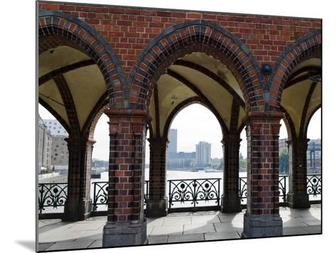 Arcade of a Bridge, Oberbaumbruecke, Spree River, Berlin, Germany--Mounted Photographic Print