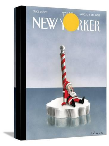The New Yorker Cover - August 13, 2012-Ian Falconer-Stretched Canvas Print