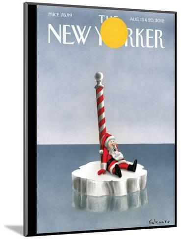 The New Yorker Cover - August 13, 2012-Ian Falconer-Mounted Premium Giclee Print