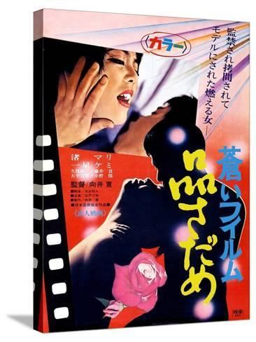 Japanese Movie Poster - The Evaluation--Stretched Canvas Print