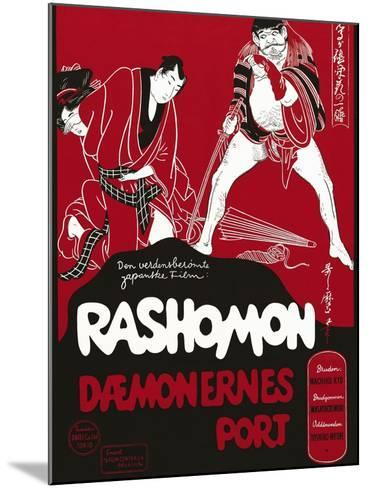Rashomon, Japanese Movie Poster--Mounted Giclee Print