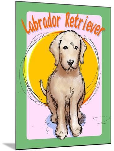 Labrador Retriever 3-Cathy Cute-Mounted Giclee Print