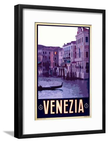 Canal in Venice Italy 4-Anna Siena-Framed Art Print