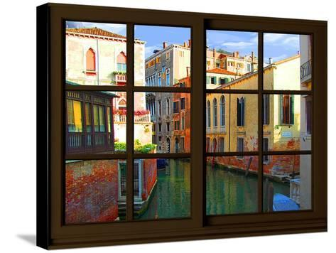 View from the Window at Venice-Anna Siena-Stretched Canvas Print