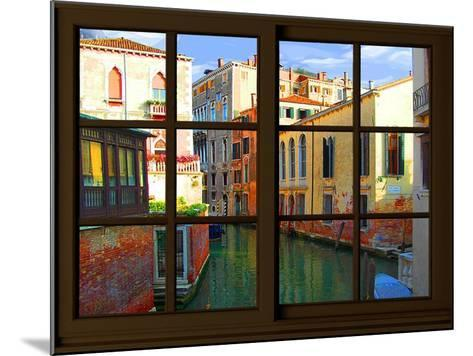 View from the Window at Venice-Anna Siena-Mounted Giclee Print